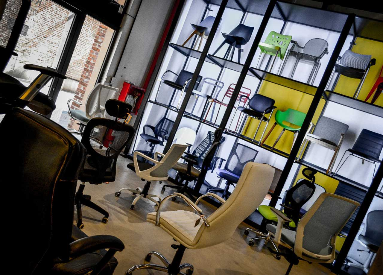 Koll Sillas De Oficina Muebles De Oficina Sillas De Dise O  # Muebles Diseno Rosario